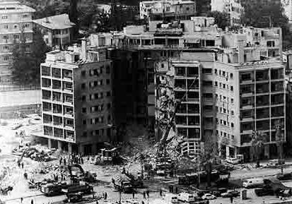 April 18, 1983 US Embassy Lebanon