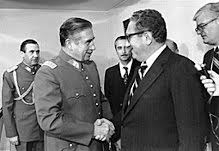 Augusto Pinochet and Kissinger