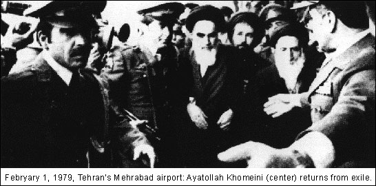 Ayatollah Khomeini February 1, 1979