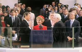 Ronald Reagan inaguration 1981