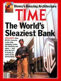 Time Magazine Cover B.C.C.I.