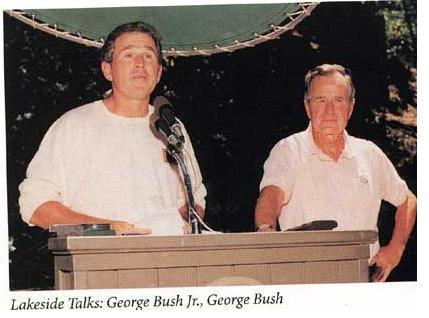 Bush and Jr Bohemian Grove