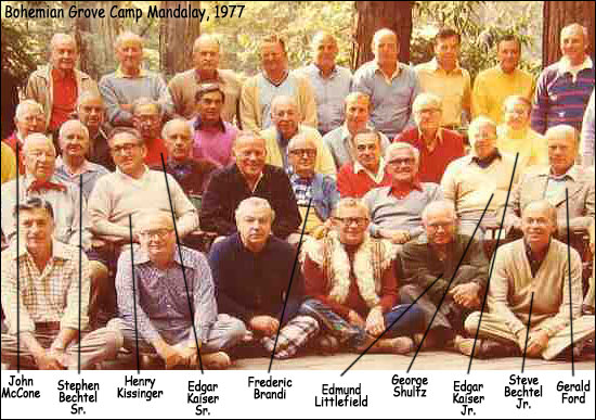 Camp Mandalay Bohemian Grove 1977
