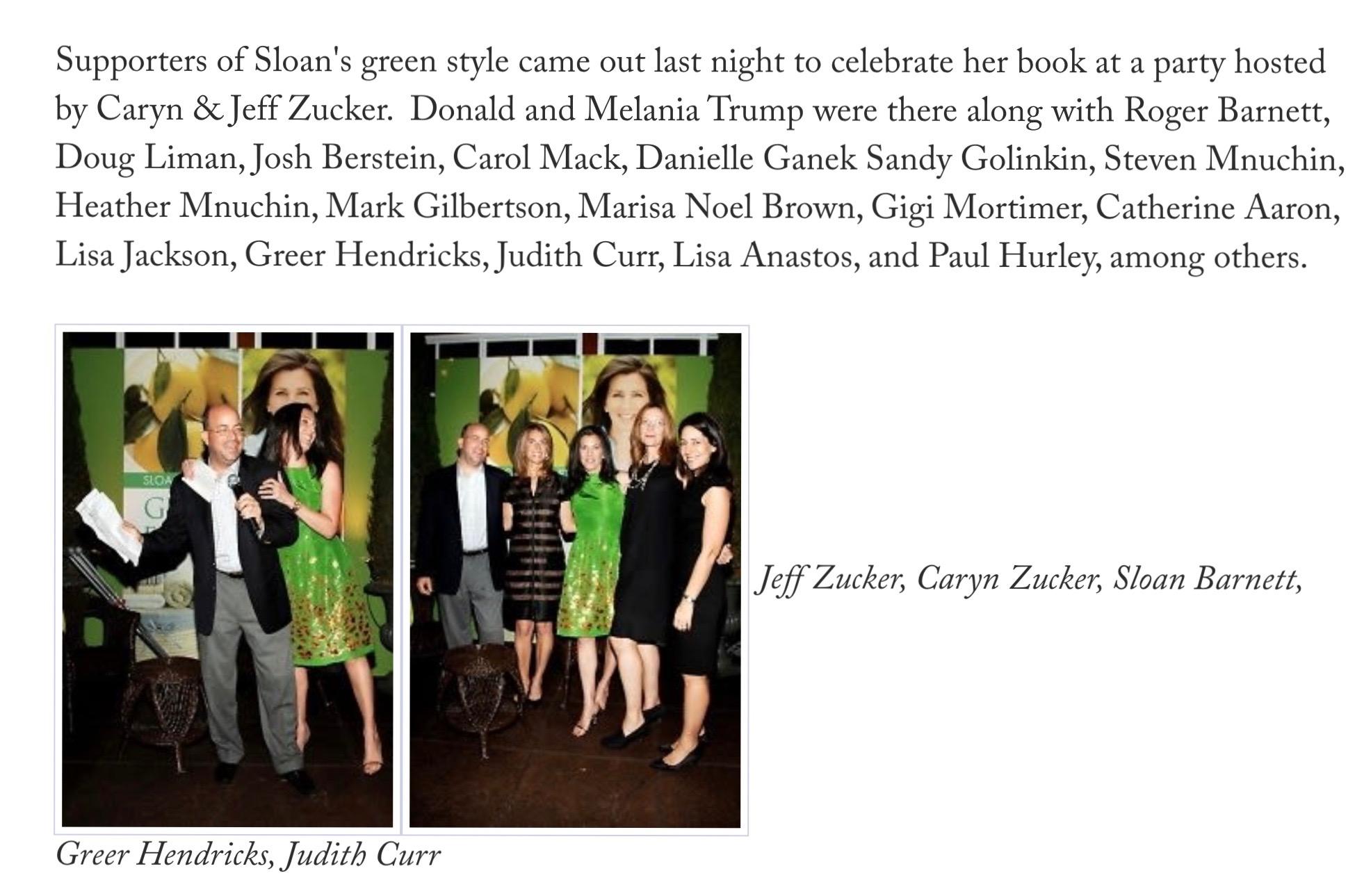 Green Guest list
