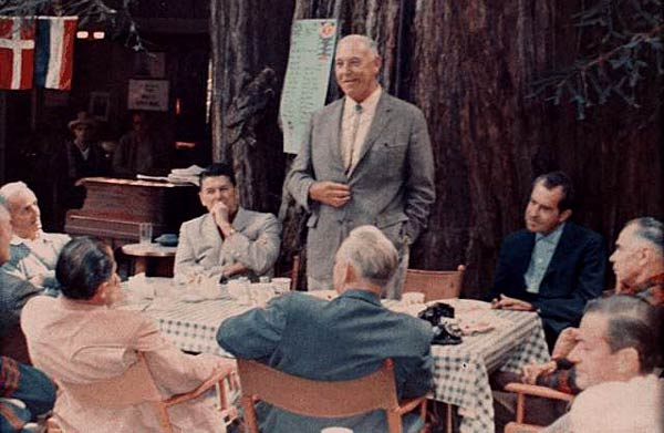 Nixon Reagan Bohemian Grove