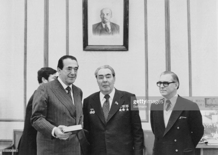 Robert Maxwell Leonid Brezhnev