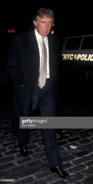 NEW YORK CITY - OCTOBER 29: Donald Trump attends 50th Anniversary of Ford Modelling Agency Party on October 29, 1997 at SoHo Guggenheim in New York City. (Photo by Ron Galella/Ron Galella Collection via Getty Images)